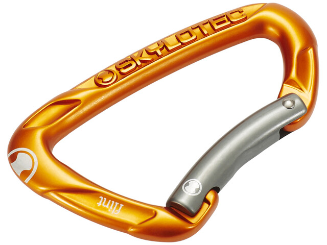Skylotec Flint Bent Carabiner orange